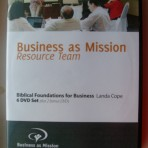 Biblical Foundations for Business – DVD Series (8 discs)